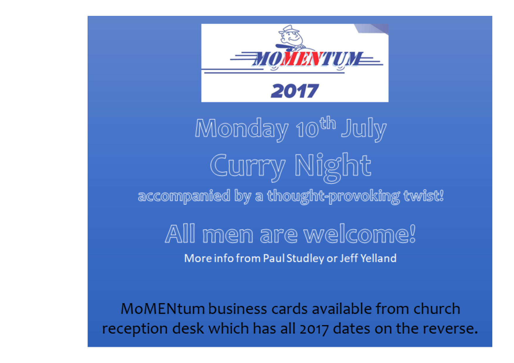 July curry night