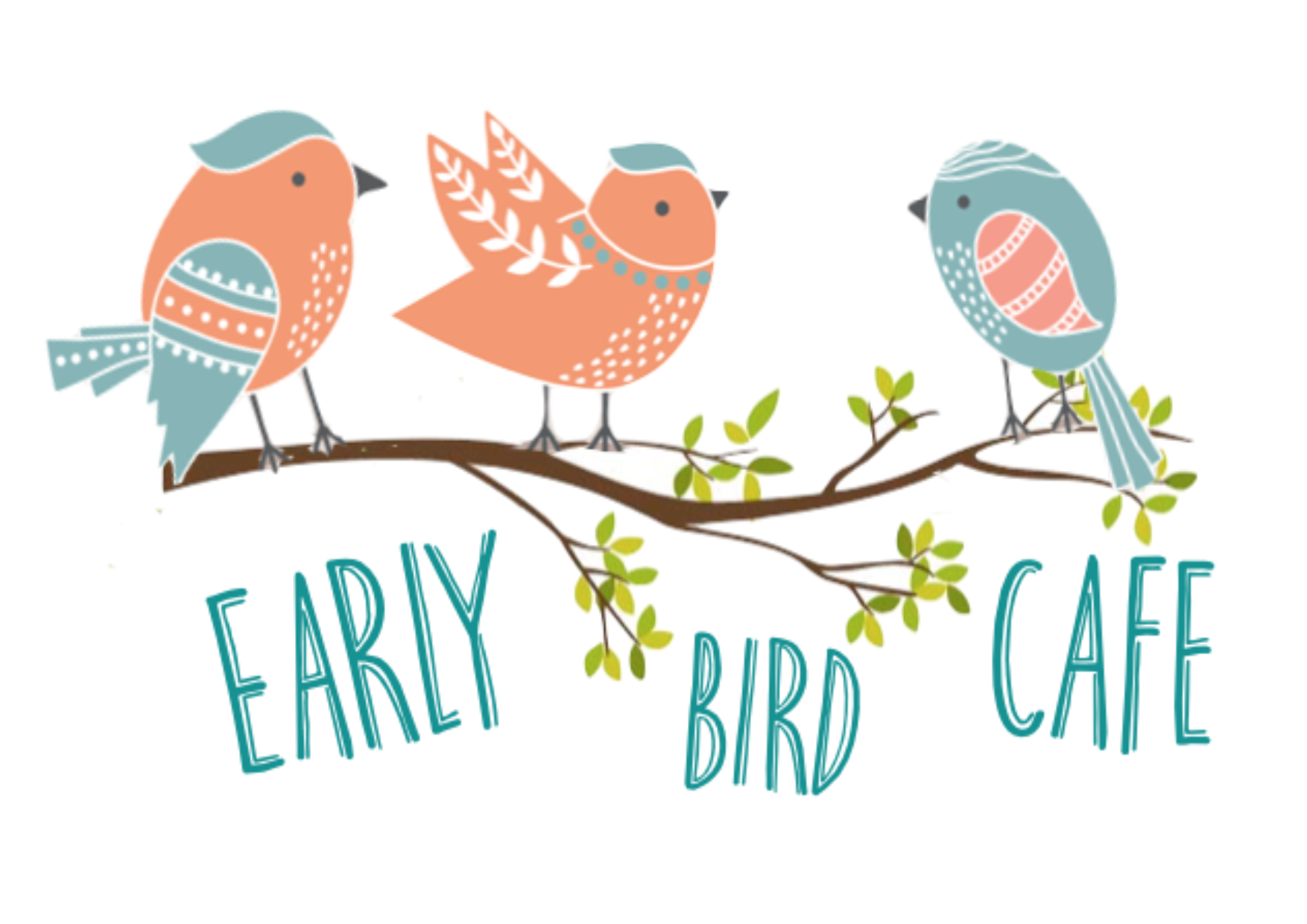 Early Bird cafe new 3 bird log