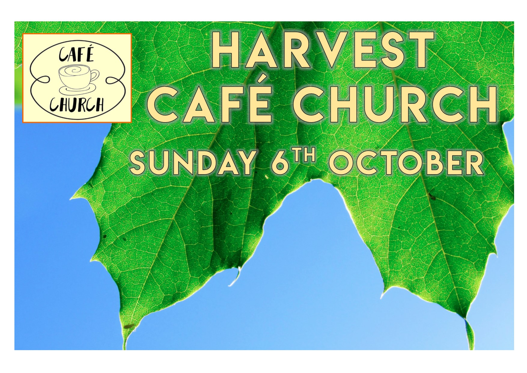 harvest cafe church oct 2019